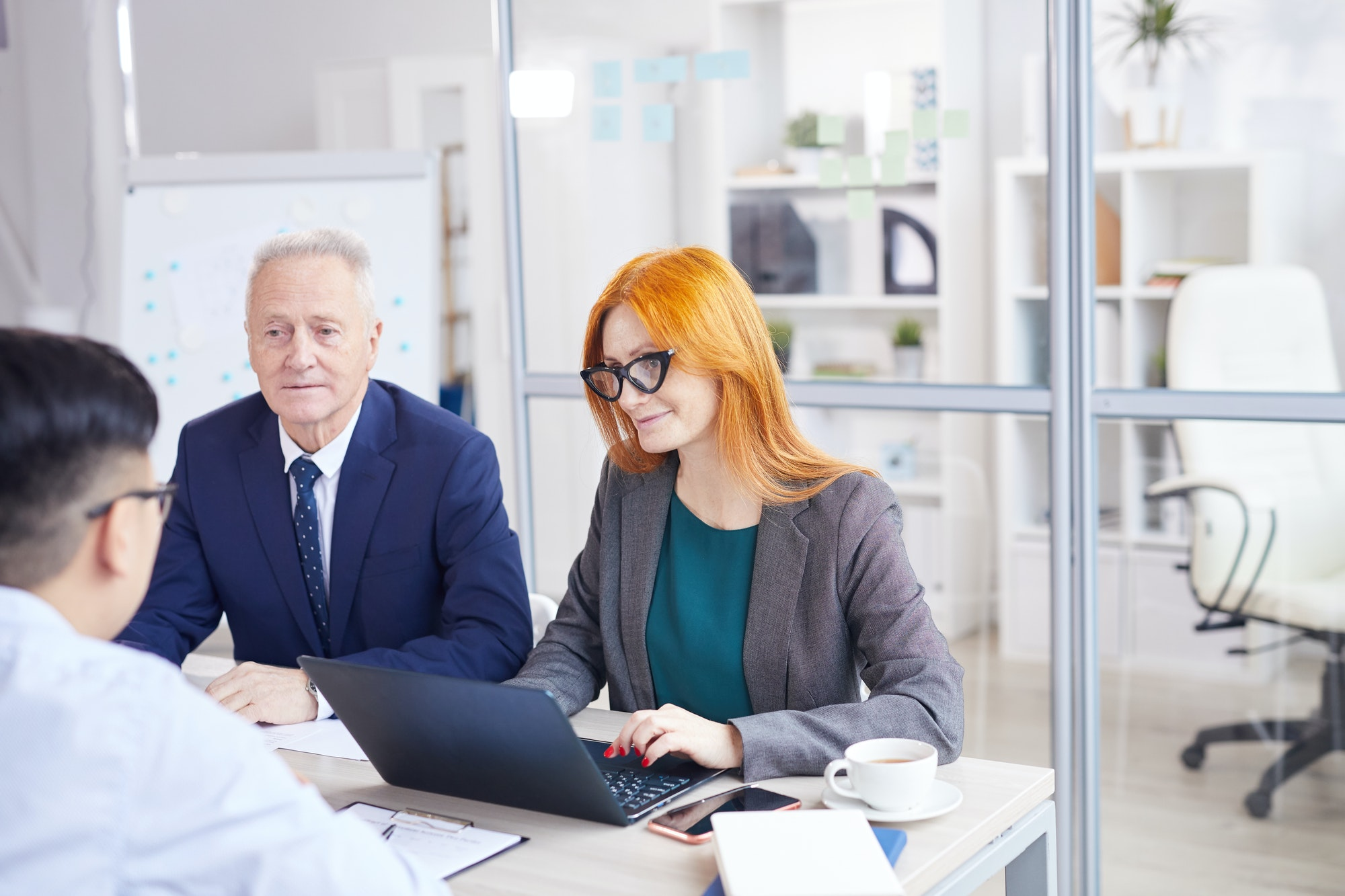 Business Managers Interviewing Candidate